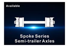 Spoke type trailer axle