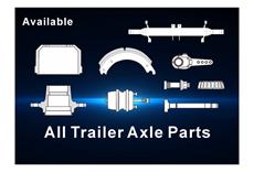 All trailer axle parts